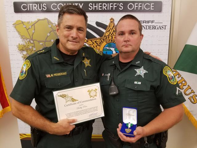 Dep Bobby Price – Certificate of Commendation