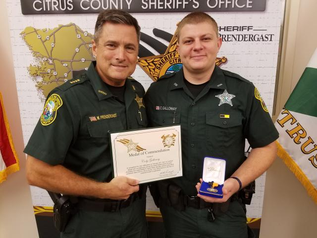 Dep Cody Galloway – Medal of Commendation