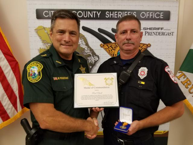 Firefighter Reed Elwell – Medal of Commendation