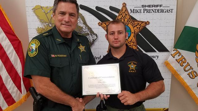 Deputy Austin Fisher - Certificate of Commendation