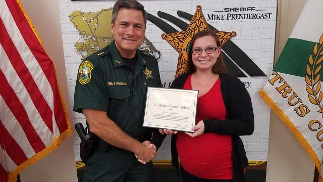 Shannon Bianchi - Certificate of Commendation